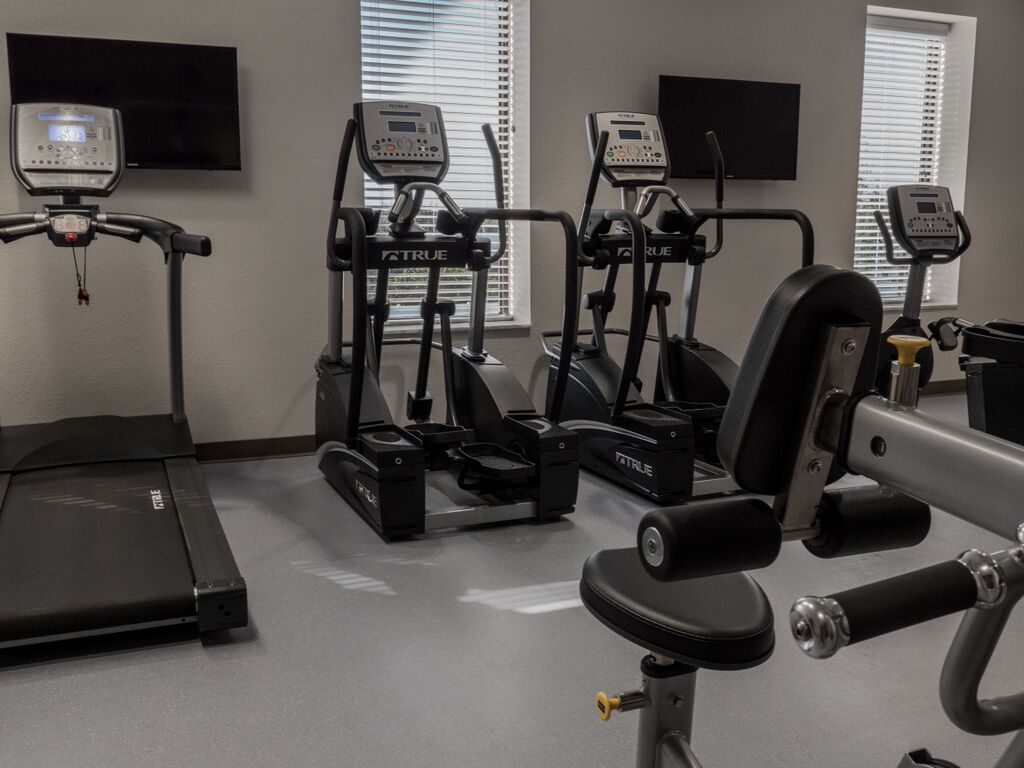 Workout room at Orlando Recovery Center