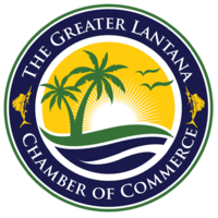 The Greater Lantana Chamber of Commerce logo